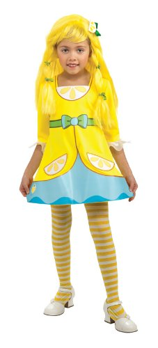 Rubies Strawberry Shortcake and Friends Lemon Meringue Costume, Small -