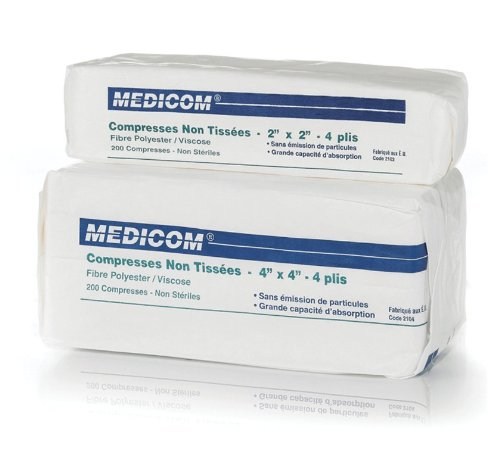 Kendall Healthcare 441400 Gauze Non-Woven 2x2 NS 8,000/Cs by Kendall Healthcare
