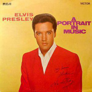 Elvis Presley Portrait - 1