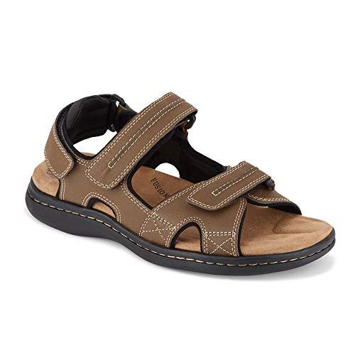 (Dockers Mens Newpage Outdoor Sport Sandal Shoe, Dark tan, 14 M US M US)