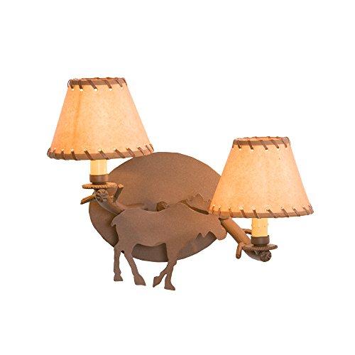 Steel Partners Lighting Timber Sconce, Moose ()