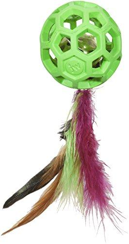 Brinquedo para Gatos JW Feather Ball JW para Gatos