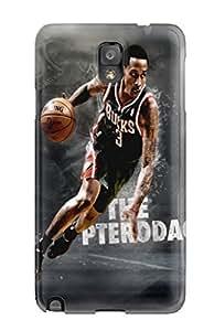Galaxy Case - Tpu Case Protective For Galaxy Note 3- Milwaukee Bucks Nba Basketball (26)