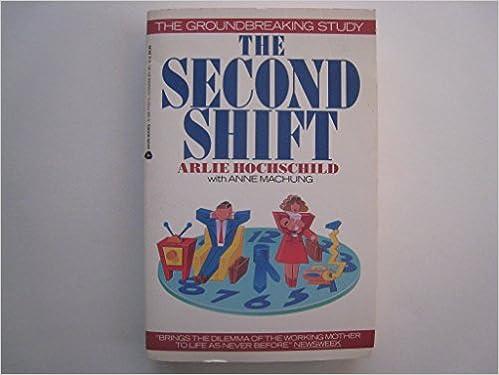 arlie hochschild second shift definition