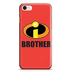 Loud Universe Brother Gift iPhone 7 Case Incredibles iPhone 7 Cover with 3d Wrap around Edges