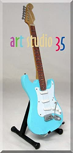 John Lennon guitarra en miniatura Sonic azul Beatles: Amazon.es ...