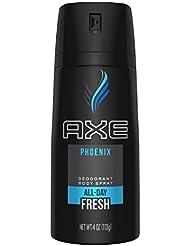 AXE Body Spray for Men, Phoenix 4 oz (Pack of 6)