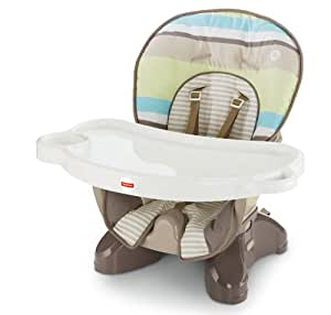 Fisher-Price SpaceSaver High Chair, Stripes