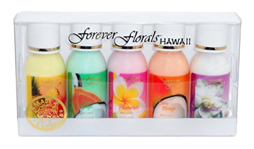 Hawaiian Forever Florals Body Lotion Mini Sampler 2 Gift Set