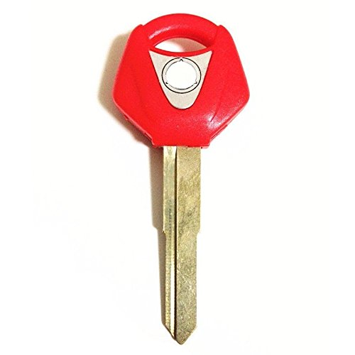 (cat1986cat1986® motorcycle red uncut key for aftermarket motorcycle yamaha yzf r1 r6 r6S fz1 fz4 fz6 xt660 c395)