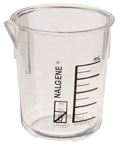 (Nalgene Polymethylpentene Beaker, Capacity 50mL (Case of 36))