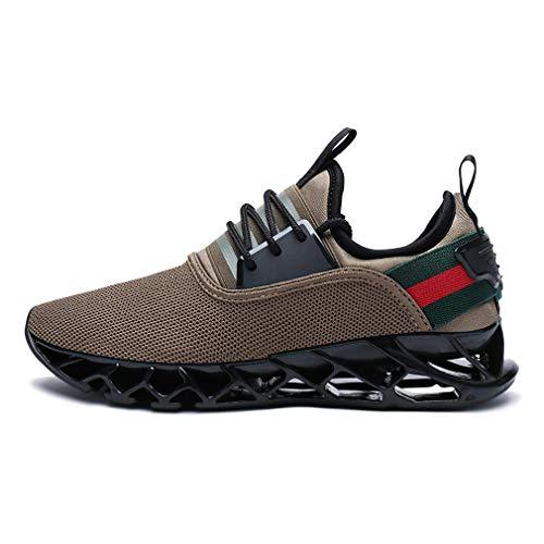 Schuhe Braun Farbe Mesh Stoßabsorbierende Casual Sport Fitness ...