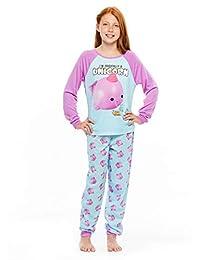 Narwhal Squishy 2-Piece Pajama Set - Long Sleeve Top & Pajama Pants XS