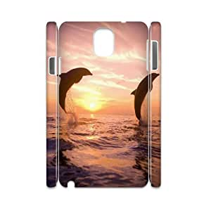 DDOUGS Dolphin Dropship Cell Phone Case for Samsung galaxy Note 3 N9000, Personalised Samsung galaxy Note 3 N9000 Case