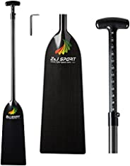 Z&J SPORT Paddle for Dragon Boat, Adjustable Boat oars IDBF Approved Carbon Fiber Paddle 43.3-52 Inch with