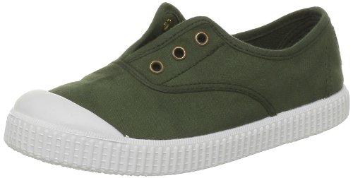 de Verde casa niños Vert Victoria Zapatillas para de Kaki tela 6OpHxZw