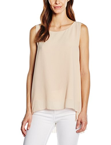 Silvian Heach Singlet Gianninis, Camiseta de Tirantes Interiores Para Mujer Rosa (ROSA CIPRI)