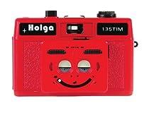 Holga 135Tim Plastic Camera (Red)