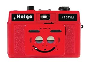 Holga 135Tim Plastic Camera (Red)