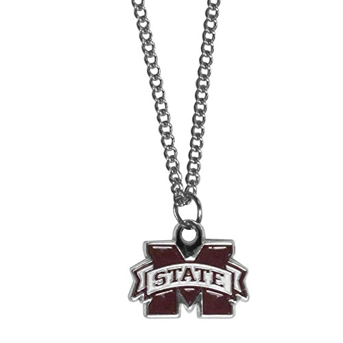 NCAA Mississippi State Bulldogs Chain Necklace with Charm, 22