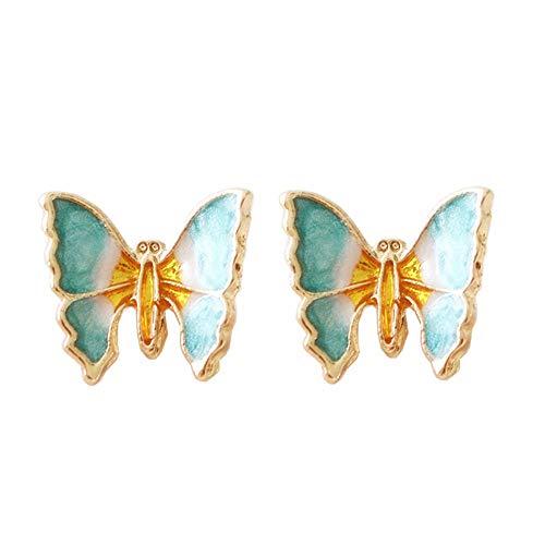 Enamel Butterfly Earrings - 6
