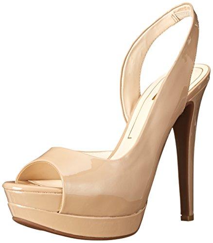 Jessica Simpson Peep Toe Pumps (Jessica Simpson Women's sabella D'Orsay Pump, Nude, 10 M US)