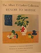 The Albert D. Lasker Collection Renoir to…