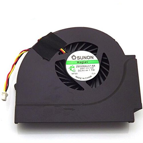Saully New Fan for Lenovo IBM Thinkpad T510 W510 CPU Cooler Fan  ZB0506AUV1-6A 3Pin
