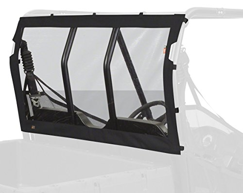 Rangers Accessories (Classic Accessories Black UTV Rear Window with Fast Straps - Four Wheeler Accessories for Polaris Ranger (18-155-010401-RT))