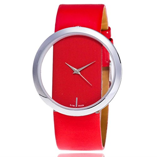 Women watch,YJYdada Fashion Women Beautiful Leather Casual Watch Luxury Analog Quartz Watch (Tiffany Letter Opener)