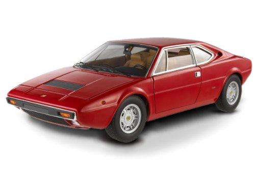 #X5482 Hot Wheels Elite Ferrari Dino 308 GT 4,Red 1/18 Scale Diecast Vehicle