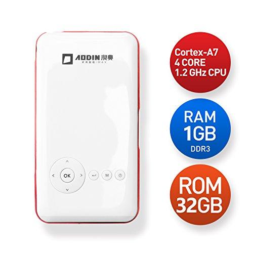Lightinthebox Aodin Wireless DLP Mini Smart Android 5.0 P...