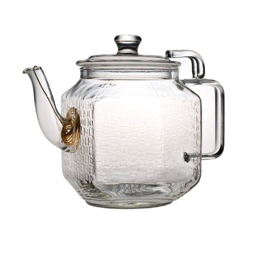 teaposy - Plato Glass Teapot (22 Ounce Small Teapot)