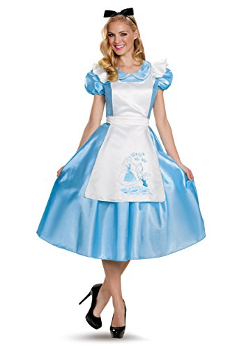 Disguise Costumes Classic Alice Deluxe Costume (Adult), X-Large (18-20)