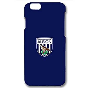 Simple Logo West Browich Albion Football Club Phone Case Customized Durable Cover Case For Iphone 6 Plus / 6s Plus ( 5.5 Inch )