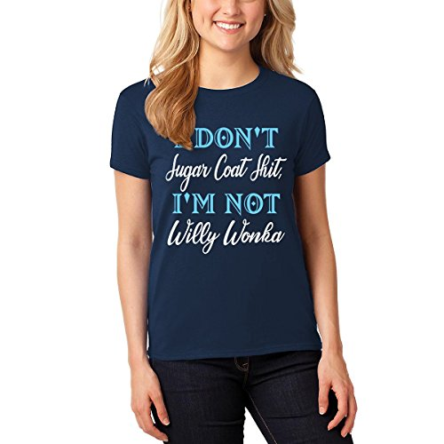 iSovo I Dont Sugar Coat Shit Im Not Willy Wonka Unisex Fit Tshirt for Men Women by iSovo (Image #3)
