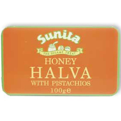 (12 PACK) - Sunita - Pistachio Honey Halva | 75g | 12 PACK BUNDLE