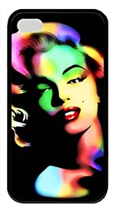 meilinF000Alluring Marilyn Monroe TPU Material Black Case For iphone 6 4.7 inch by Topmousepad 140401110meilinF000