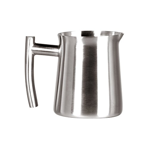 Frieling USA Brushed 18/10 Stainless Steel Creamer/Frothing Pitcher, 10 Ounce (Pack of 12) (Frieling Steel Pitcher)