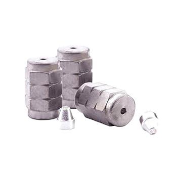 0.32 mm ID Columns 10 Ferrules 2 Nuts Trajan Scientific 073351 Silted Metal Initial Installation Kit for Shimadzu Instrument