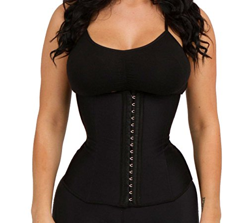 luxx-curves-waist-trainer-corset-for-weight-loss-latex-shaper-postpartum-women-size-m-nude