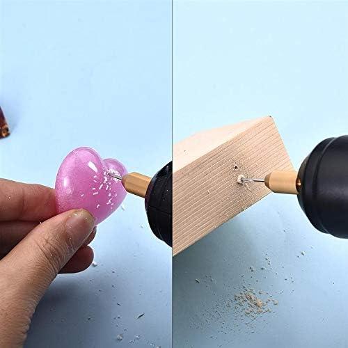 SNOWINSPRING Outils de Bijoux Perceuse /éLectrique Portable pour Perle R/éSine /éPoxy Fabrication de Bijoux DIY Outils DArtisanat en Bois avec 5 Forets