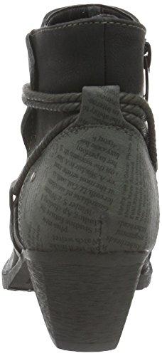 1623302 negro Zapatillas Supremo de Estar para Casa por Mujer Negro RvwPw