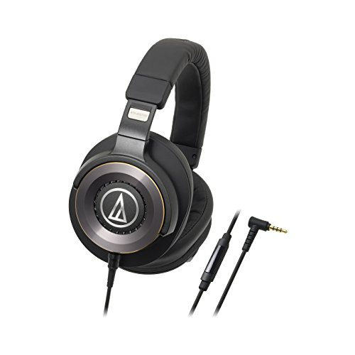 Audio-Technica ATH-WS1100iS Solid Bass Over-Ear Headphones with In-line Microphone & Control by Audio-Technica