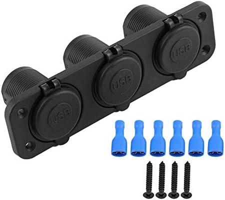 Gorgeri 12V車のシガーライター、シガーライター力のソケットのアダプター4.2A車RVのヨットバスのための二重USBの充電器