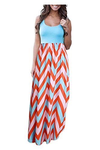 Aifer Womens Striped Waist Sleeveless product image