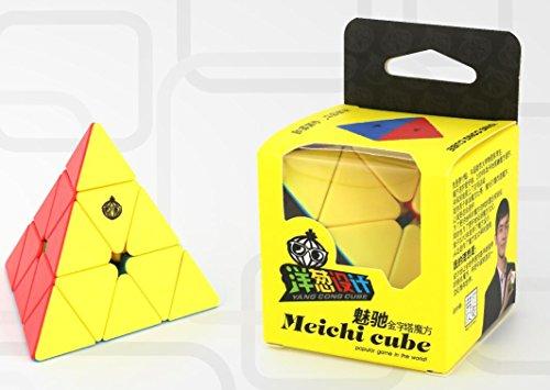 CuberSpeed Cong Design MeiChi Pyraminx stickerless Magic