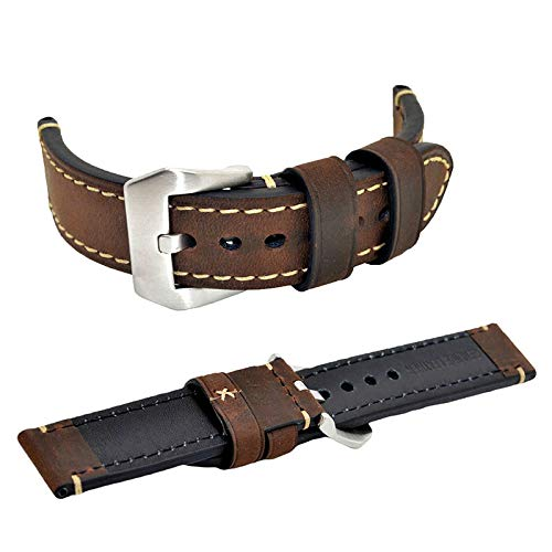 Buy fossil leather strap 22mm