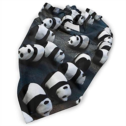 Angel kuy Pet Scarf Dog Bandana Bibs Triangle Head Scarfs Panda Bears Cute Accessories for Cats Baby Puppy]()