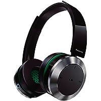 Panasonic RP-BTD10-K Premium Bluetooth Wireless On-Ear Headphones, Black